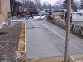 Commercial sidewalk replacement - DaycoGeneral.com
