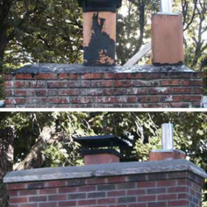 Chimney Repair (Before & After) - DaycoGeneral.com