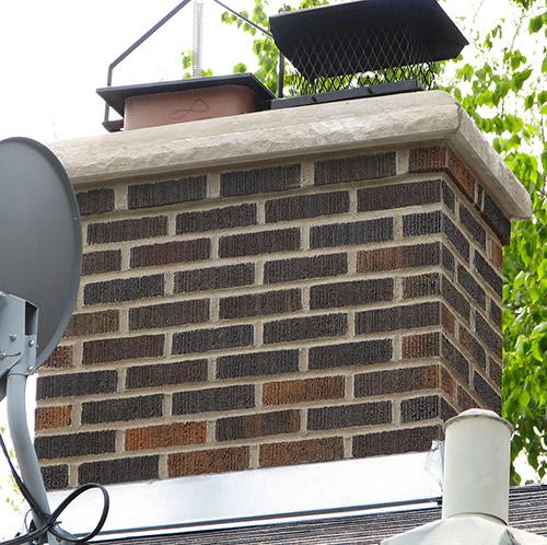 Brickwork on Chimney